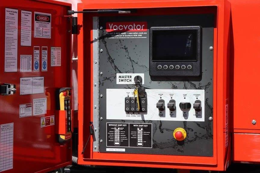 TM180-170 Vacvator 18,000L Vac unit